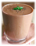 Smoothie munt chocolade