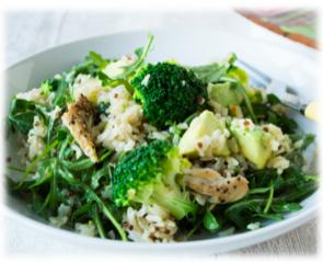 quinoa-broccoli-makreel-salade